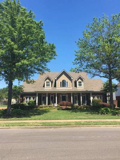 Collierville Single Family Home Contingent: 1550 Daventry