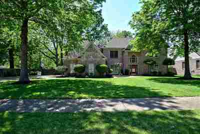 Collierville Single Family Home Contingent: 1385 Tuscumbia