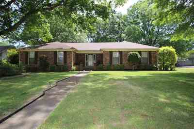 Collierville Single Family Home Contingent: 1080 Yorktown