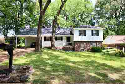Memphis TN Single Family Home Contingent: $119,900