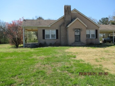 Adamsville Single Family Home For Sale: 205 Old Shiloh