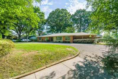 Memphis Single Family Home Contingent: 5457 Normandy