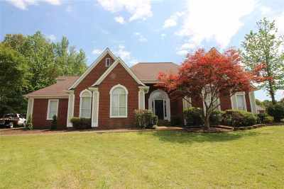 Olive Branch Single Family Home Contingent: 8242 Stoneybrook