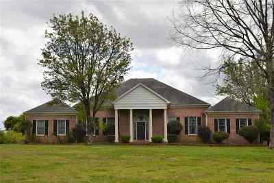 Olive Branch Single Family Home For Sale: 8090 Center Hill