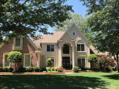 Collierville Single Family Home For Sale: 615 Windsor Park