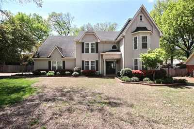 Collierville Single Family Home Contingent: 3447 Bent Creek