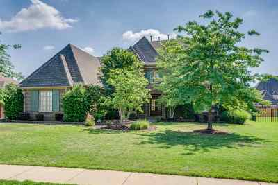 Collierville Single Family Home For Sale: 1252 Braygood