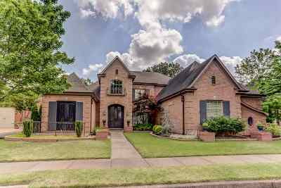 Collierville Single Family Home For Sale: 2836 Bayhill Woods