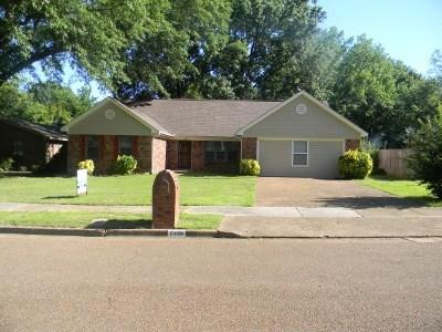 Bartlett Single Family Home For Sale: 6498 Thigpen