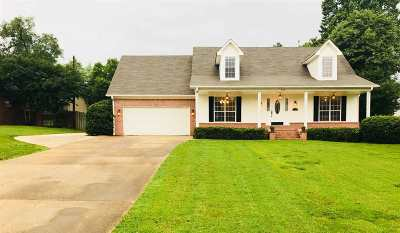 Tipton County Single Family Home For Sale: 827 Betty Boyd