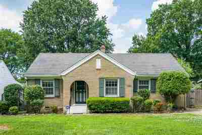 Memphis Single Family Home For Sale: 3562 Mimosa