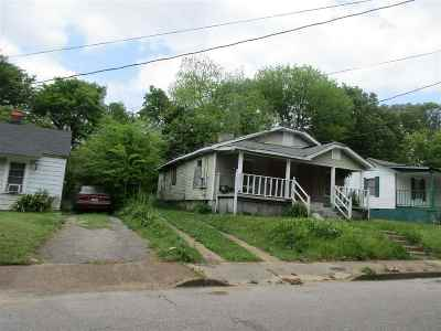 Memphis Single Family Home For Sale: 2846 Hale