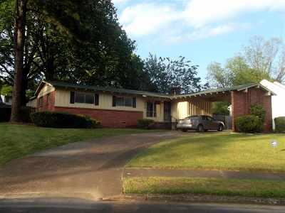 Memphis Single Family Home For Sale: 3576 W Elkwood