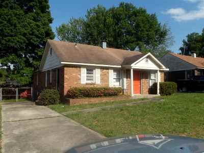 Memphis Single Family Home For Sale: 3178 Millwood
