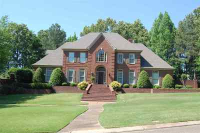 Germantown TN Single Family Home For Sale: $665,000