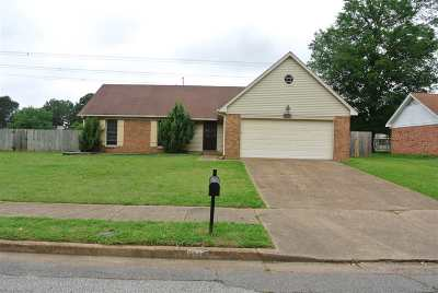 Memphis TN Single Family Home Contingent: $124,900