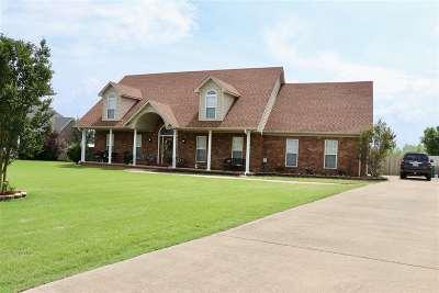Atoka Single Family Home For Sale: 65 Rainey