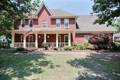 Collierville Single Family Home For Sale: 1287 Pinpointe