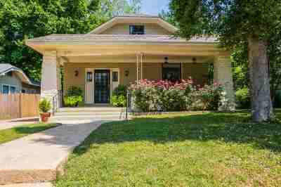 Memphis Single Family Home For Sale: 1878 Young