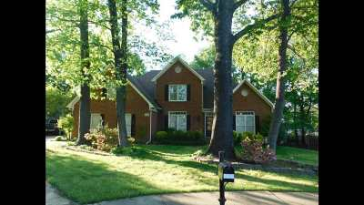 Collierville Single Family Home For Sale: 1021 Autumn Oak
