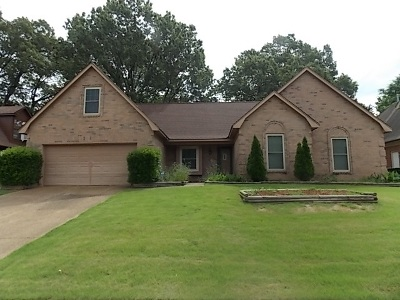 Bartlett Single Family Home For Sale: 3182 Hill Lake