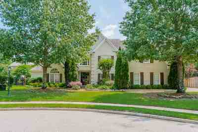 Collierville Single Family Home Contingent: 1709 Dymoke