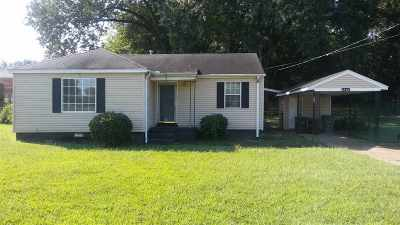 Memphis Single Family Home For Sale: 1547 Alcy