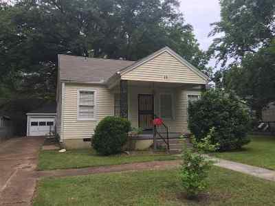 Memphis TN Single Family Home For Sale: $160,000