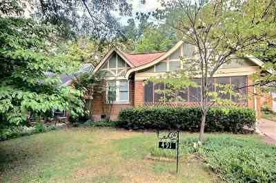 Memphis Single Family Home For Sale: 491 S Prescott