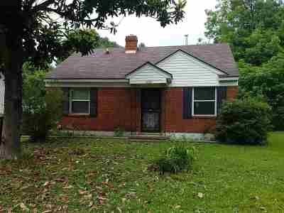 Memphis Single Family Home For Sale: 4058 Fizer