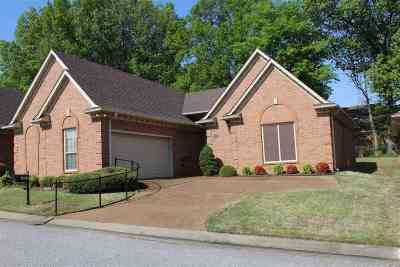 Memphis Condo/Townhouse For Sale: 1825 Woodchase Glen