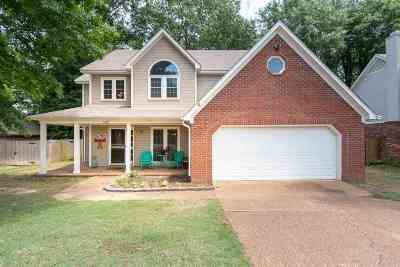 Collierville Single Family Home Contingent: 1368 Squire Dudney