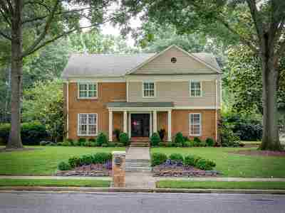 Memphis Single Family Home Contingent: 2172 Hickory Crest