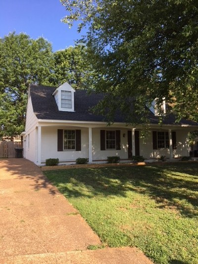 Collierville Single Family Home For Sale: 1129 Brado