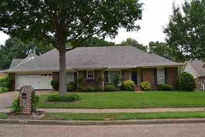 Collierville Single Family Home Contingent: 480 Pine Grove