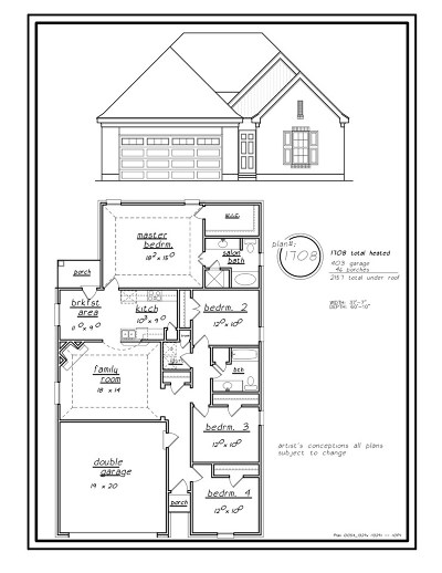 Cordova Single Family Home Contingent: 9357 Acadia
