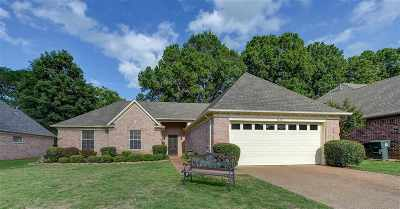 Collierville Single Family Home Contingent: 1328 River Bank