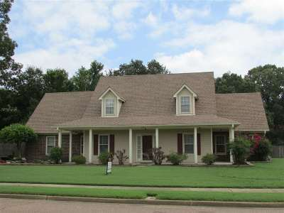 Collierville Single Family Home For Sale: 2804 Fairway Glen