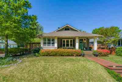 Memphis Single Family Home Contingent: 605 S McLean