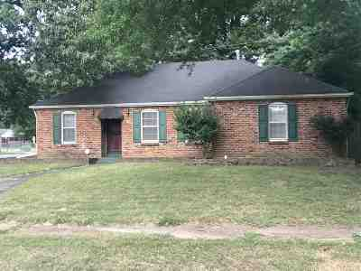 Memphis TN Single Family Home For Sale: $94,500