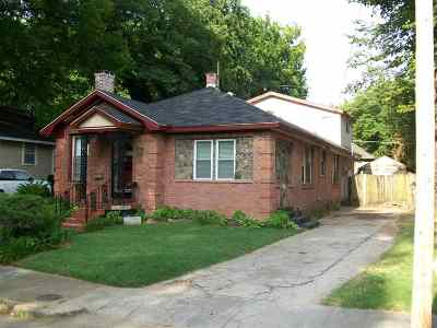 Cooper Young Single Family Home For Sale: 1056 New York