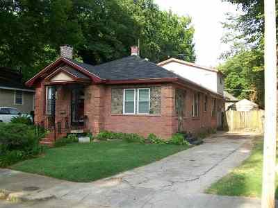 Memphis Single Family Home For Sale: 1056 New York