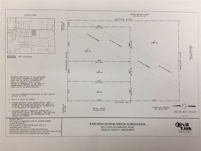 Byhalia Residential Lots & Land For Sale: 13541 Fairview #lot 2