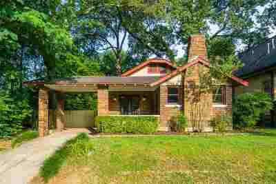 Memphis Single Family Home Contingent: 767 N Barksdale