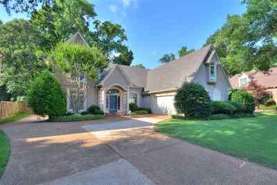 Memphis Single Family Home For Sale: 7664 Fairway Forest