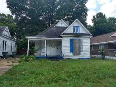 Cooper, Cooper Young Single Family Home For Sale: 1737 Evelyn