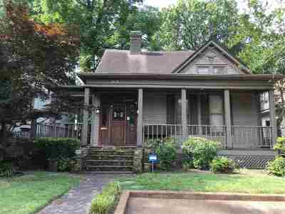 Memphis Single Family Home For Sale: 1671 Lawrence