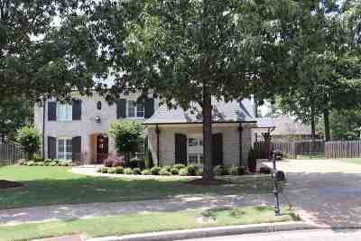 Collierville Single Family Home Contingent: 2006 Coors Creek