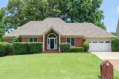 Memphis Single Family Home For Sale: 1456 Lacewing Trace