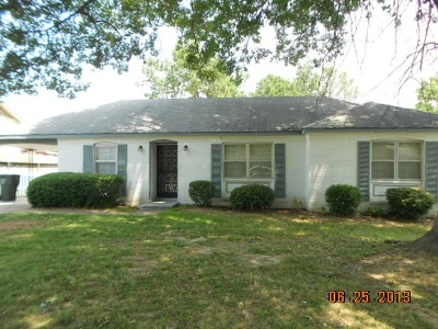 Memphis TN Single Family Home For Sale: $62,750